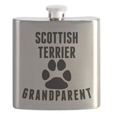 Scottish Terrier Grandparent Flask