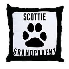 Scottie Grandparent Throw Pillow