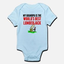 My Grandpa Is The Worlds Best Lumberjack Body Suit