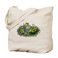 POND FROGS Tote Bag
