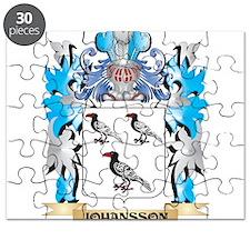 Johansson Coat of Arms - Family Crest Puzzle