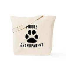 Poodle Grandparent Tote Bag