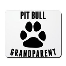 Pit Bull Grandparent Mousepad