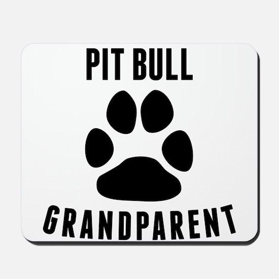 Pit Bull Grandparent Mousepad