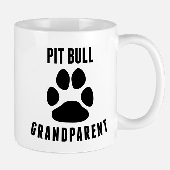 Pit Bull Grandparent Mugs