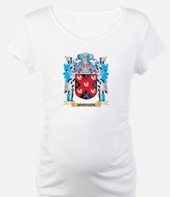 Johnson Coat of Arms - Family Cr Shirt