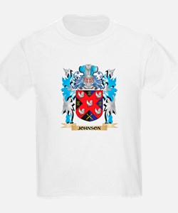Johnson Coat of Arms - Family Crest T-Shirt