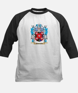 Johnson Coat of Arms - Family Cres Baseball Jersey