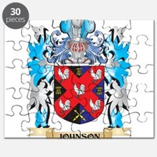 Johnson Coat of Arms - Family Crest Puzzle