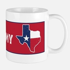 Don't CA my TX Bumper Mugs