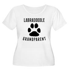 Labradoodle Grandparent Plus Size T-Shirt