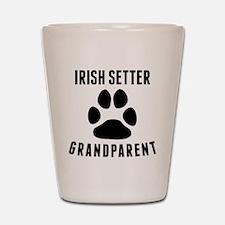 Irish Setter Grandparent Shot Glass