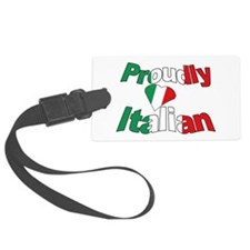 Proudly Italian Luggage Tag