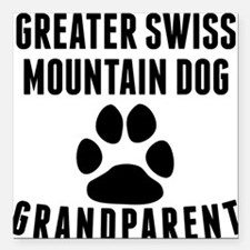 Greater Swiss Mountain Dog Grandparent Square Car
