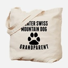 Greater Swiss Mountain Dog Grandparent Tote Bag