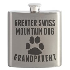 Greater Swiss Mountain Dog Grandparent Flask