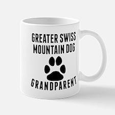 Greater Swiss Mountain Dog Grandparent Mugs