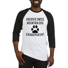 Greater Swiss Mountain Dog Grandparent Baseball Je