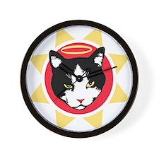 Holy Cats! Wall Clock