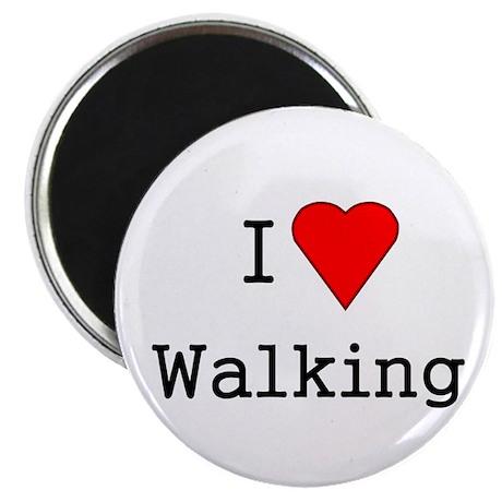 "heart walking 2.25"" Magnet (10 pack)"