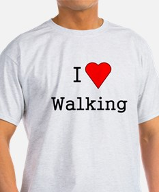 heart walking T-Shirt