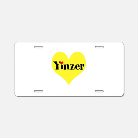 Pittsburghese, Yinzer Aluminum License Plate