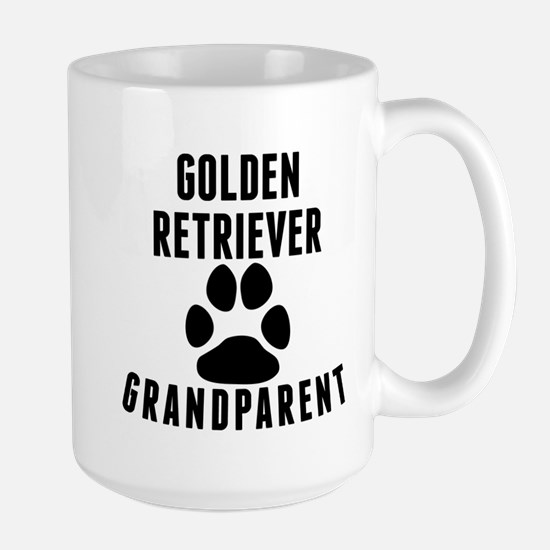 Golden Retriever Grandparent Mugs