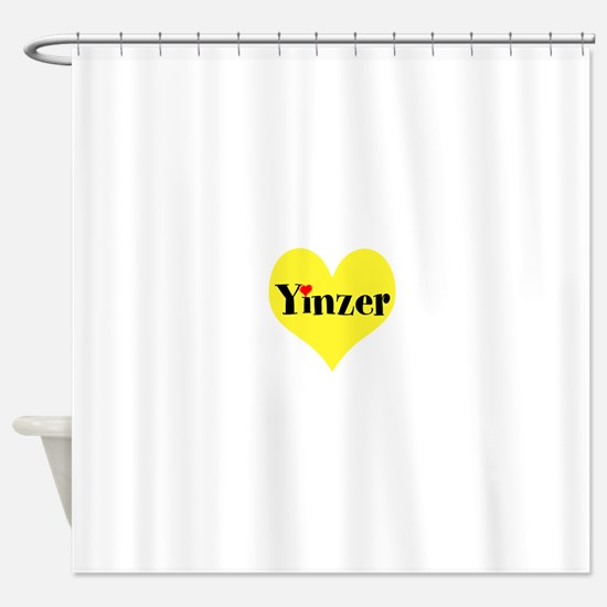 Pittsburghese, Yinzer Shower Curtain