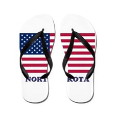 North Dakota Flip Flops