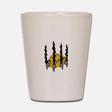 TIGER CLAWS Shot Glass