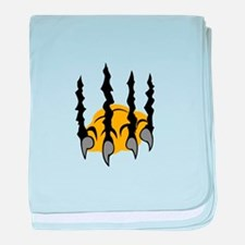 TIGER CLAWS baby blanket