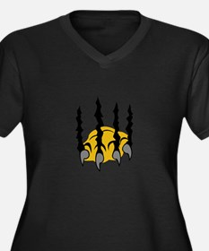TIGER CLAWS Plus Size T-Shirt