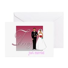 Torrez Personalized Greeting Cards (Pk of 10)