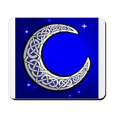 The Celtic Moon Mousepad