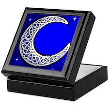 The Celtic Moon Keepsake Box