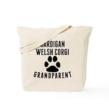 Cardigan Welsh Corgi Grandparent Tote Bag