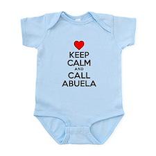Keep Calm Call Abuela Body Suit