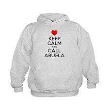 Keep Calm Call Abuela Hoodie