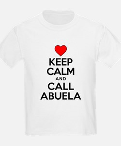 Keep Calm Call Abuela T-Shirt