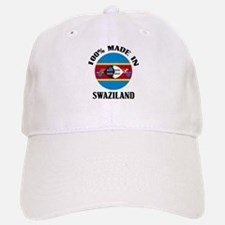 Made In Swaziland Baseball Baseball Cap