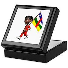 Central African Republic Boy Keepsake Box