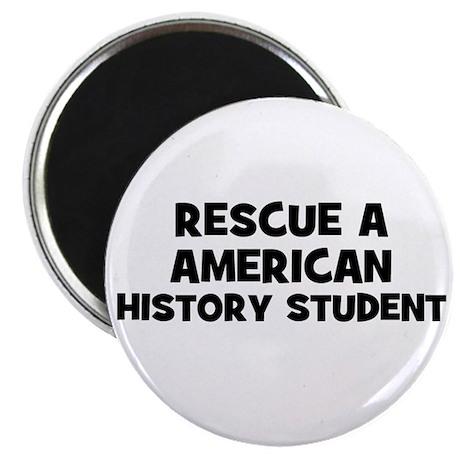 Rescue A American History Stu Magnet