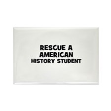 Rescue A American History Stu Rectangle Magnet