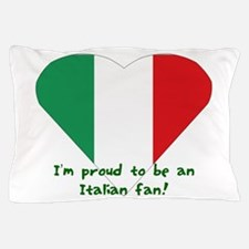Italy fan flag Pillow Case