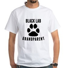 Black Lab Grandparent T-Shirt