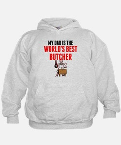 My Dad Is The Worlds Best Butcher Hoodie