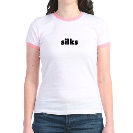 silks Jr. Ringer T-Shirt
