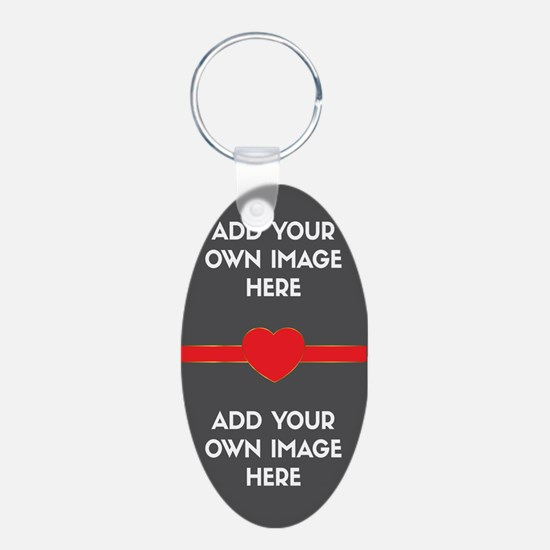 Lovers - Add Your Own Images Keychains