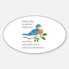 CRUMBS OF HAPPINESS Decal