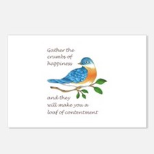 CRUMBS OF HAPPINESS Postcards (Package of 8)